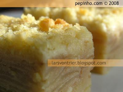 Pastel de pera con streusel al cardamomo (o no)