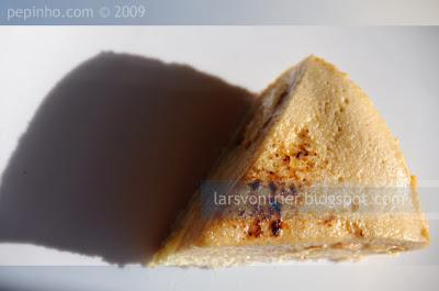 Tarta Saint-Honoré al caramelo