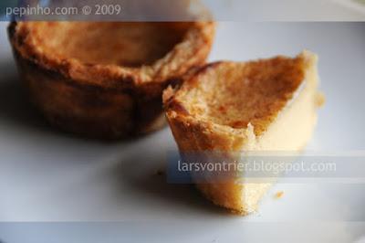 Pasteles de nata con hojaldre rápido