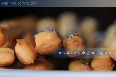 Grissini con parmesano y semillas de amapola
