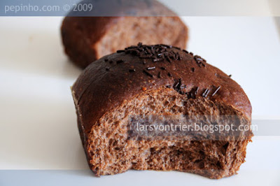 Brioche de chocolate