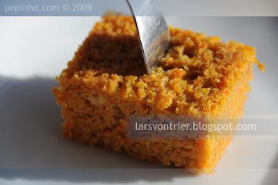 Bizcocho de calabaza y zanahoria