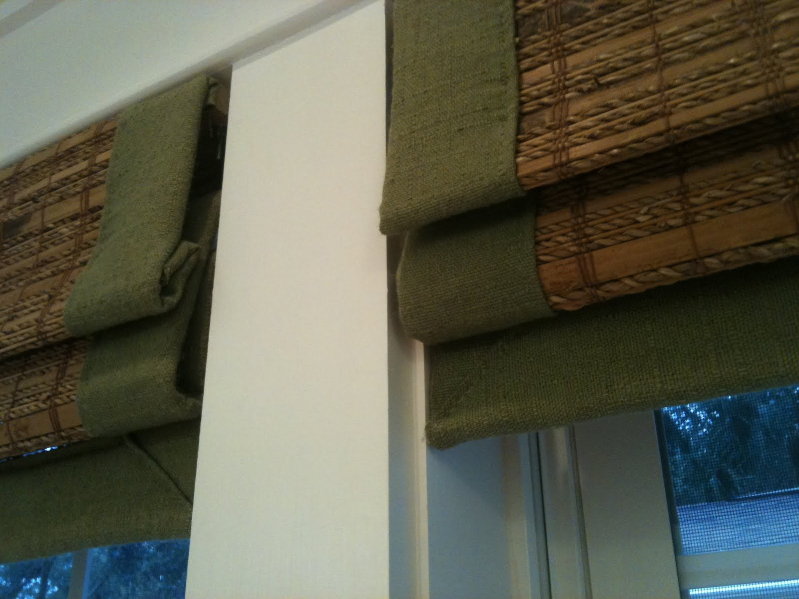 how to install outside mount woven wood shades image 3 from the apps