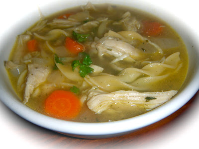 Grandmas homemade chicken noodle soup divas can cook grandmas homemade chicken noodle soup forumfinder Images