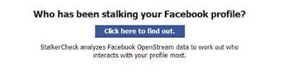 Facebook Stalker check application | www.stalkercheck.com
