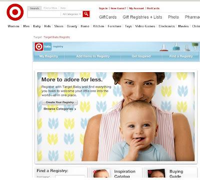 Target Baby Registry List Last Name