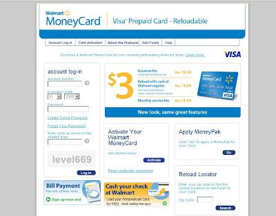Walmart MoneyCard - walmartmoneycard.com