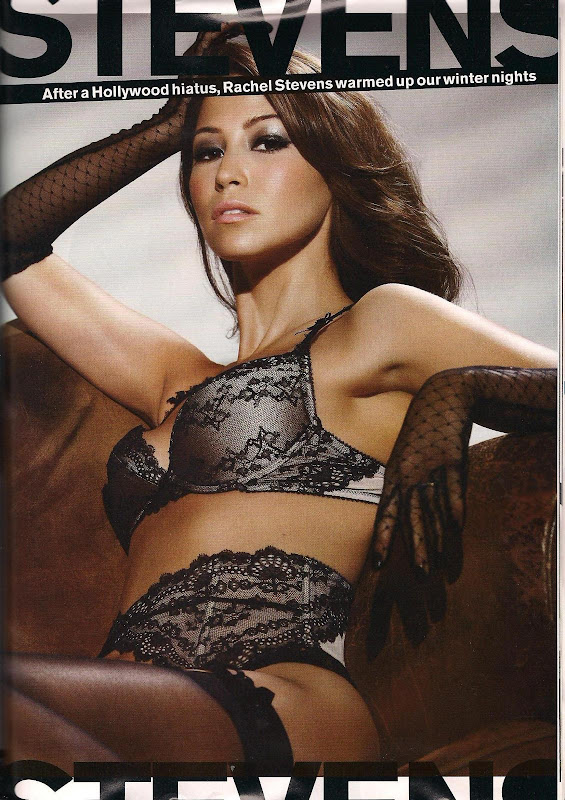 Rachel Stevens hottest in FHM Magazine, February 2009