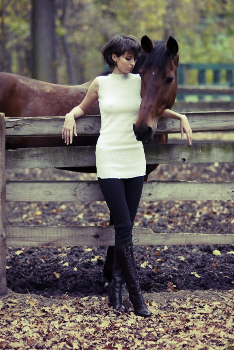 Russian Model Glamour on MyHorse Magazine