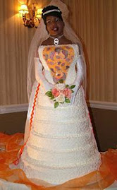 Life-Sized Wedding Cake!