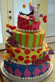 Wedding Cake: Whimsical Wedding Cakes