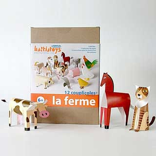 Farm Animal Papercraft