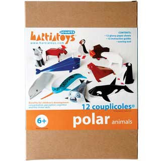 Polar Animal Papercrafts