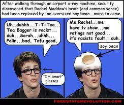 slack network olderwoman fired awful stupidity shes fine job Rachael madcow stupid