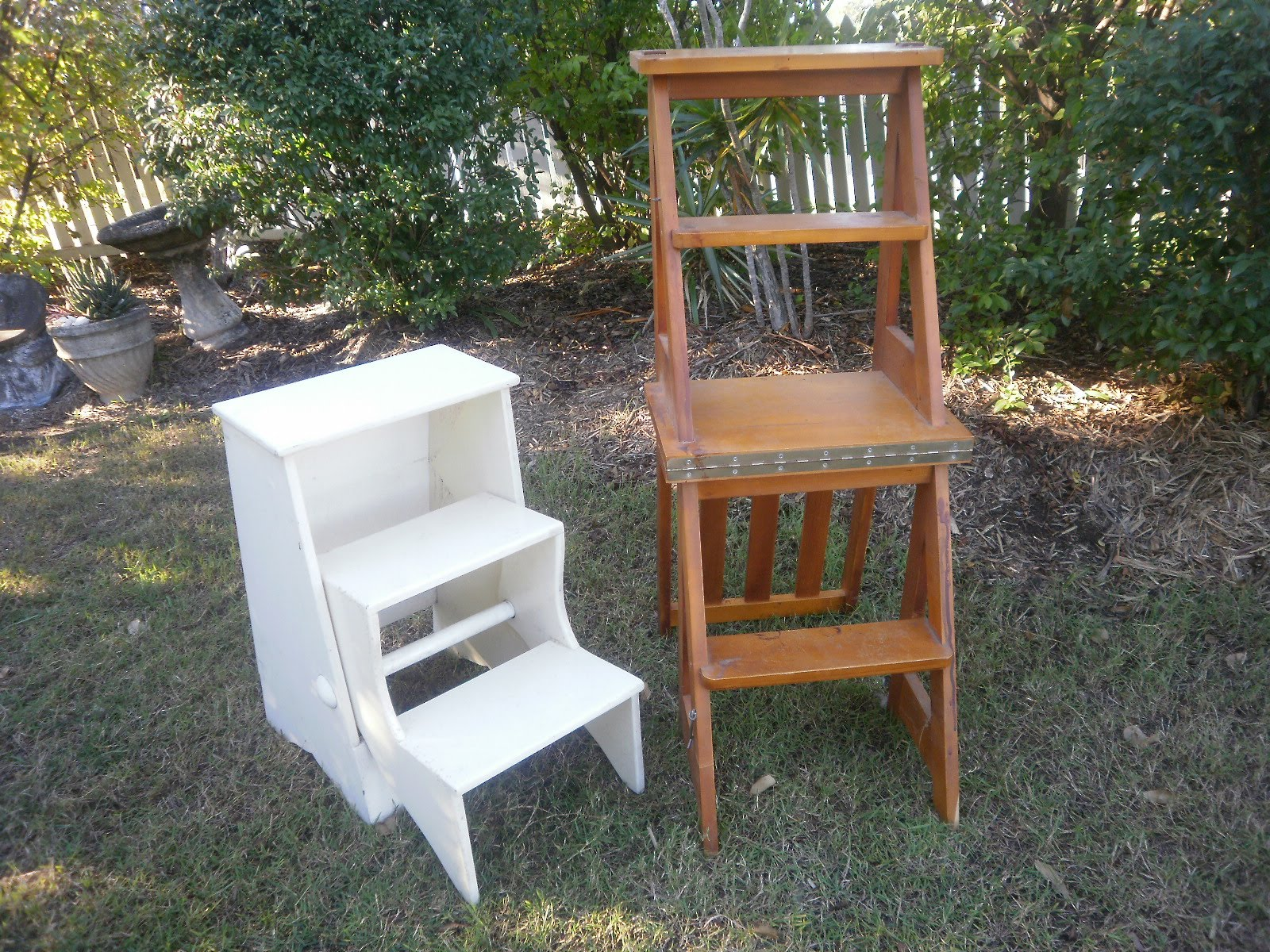Wonderful image of  little fold away step ladder and chair that converts to a step ladder with #684630 color and 1600x1200 pixels