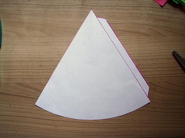 Diario de la Pelusa: Como hacer un cono de papel o cartulina