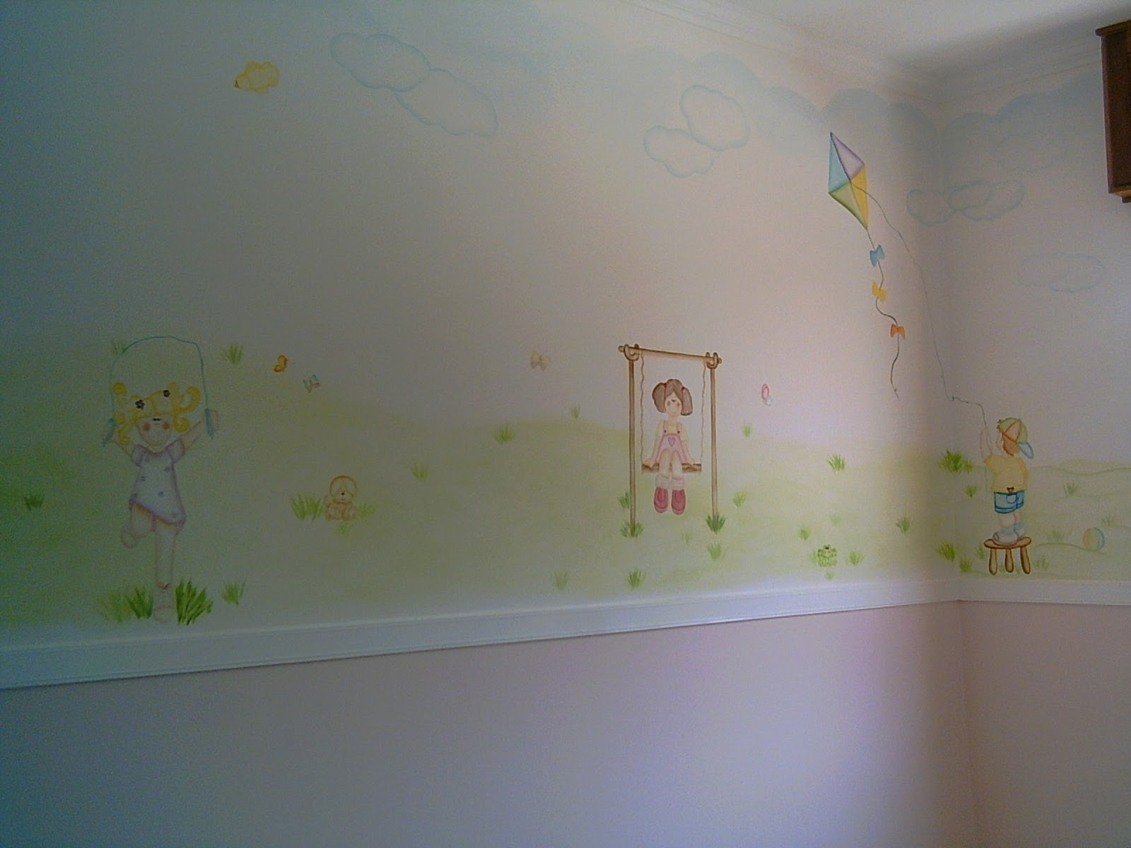 Giovana hotta giordani design de interiores pintura - Pintura decorativa paredes ...