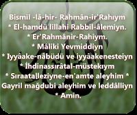 Fatiha-ı Şerifiye Okumanın Faziletleri