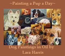My Painting a Pup a Day Blog Button