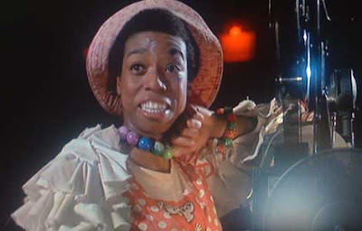Lynne Thigpen in her Godspell costume, looking very young