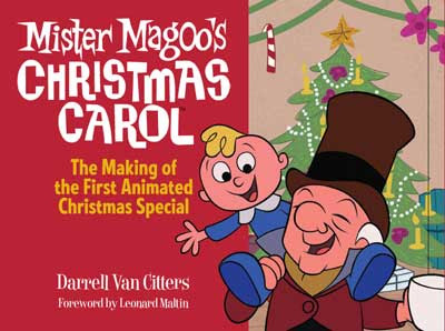 Cover of Mister Magoo's Christmas Carol book
