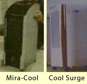Close up of Mira-Cool and Cool Surge