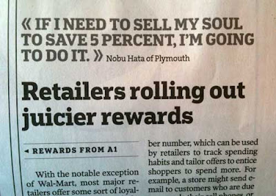 Pull quote reading If I need to sell my soul to save 5 percent, I'm going to do it