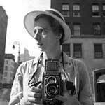 Self-portrait of Vivian Maier