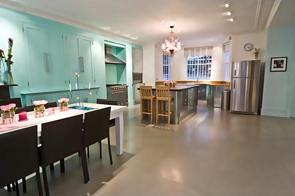 Large and Colouful House on Portland Road in London 7 - Renkli Ya�am Alanlar� Sevenler ��in Rengarenk D��enmi� Bir Ev