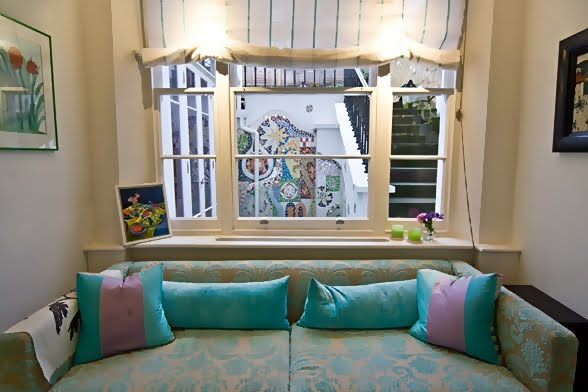 Large and Colouful House on Portland Road in London 8 - Renkli Ya�am Alanlar� Sevenler ��in Rengarenk D��enmi� Bir Ev