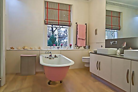 Large and Colouful House on Portland Road in London 10 - Renkli Ya�am Alanlar� Sevenler ��in Rengarenk D��enmi� Bir Ev