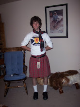 I celebrate my scottish roots.