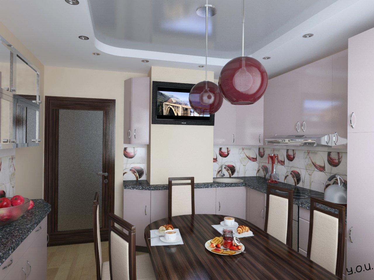 Дизайны кухни п44