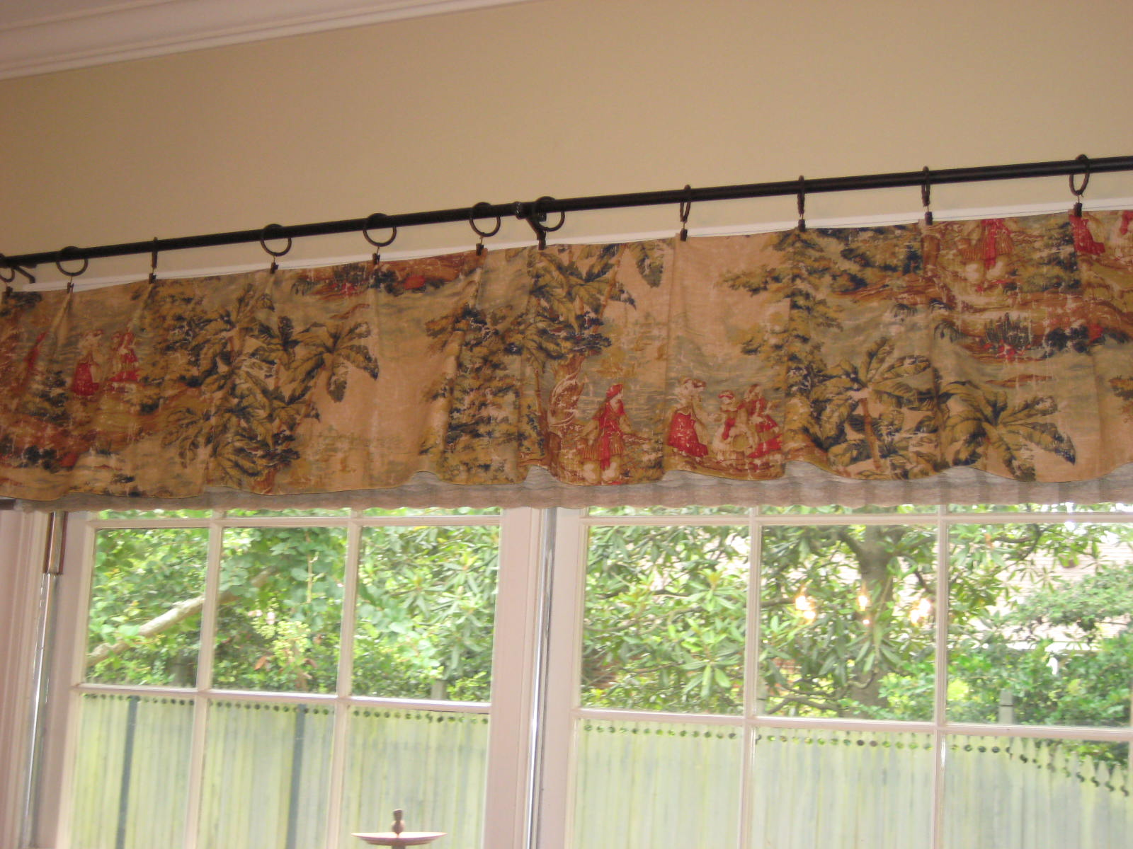 Sewing patterns for kitchen curtains curtain design - Kitchen valance patterns ...