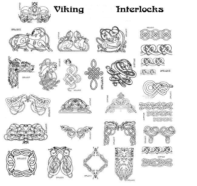 Norse heathen or ancient scandinavian tattoo designs for Ancient scandinavian designs