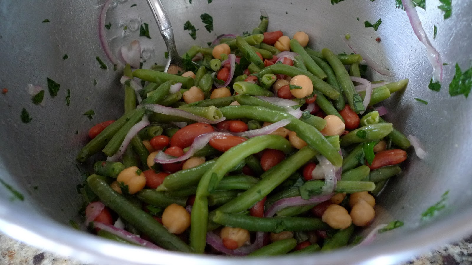 Mingling of Tastes: Three-Bean Salad