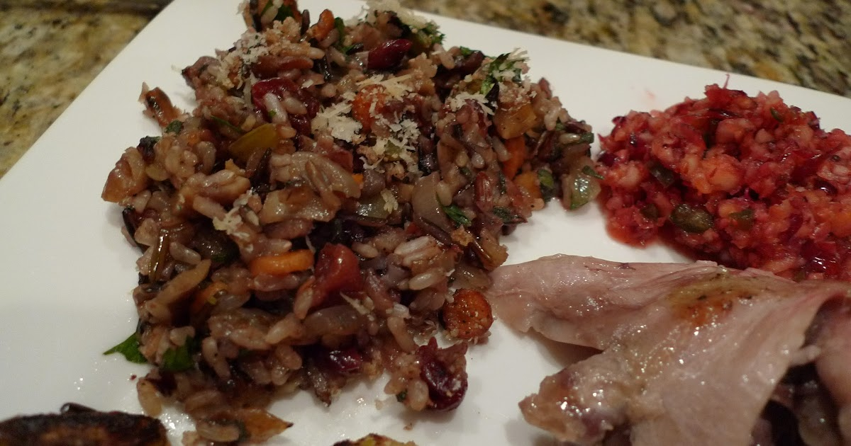 Mingling of Tastes: Wild Rice, Chestnut and Cherry Stuffing