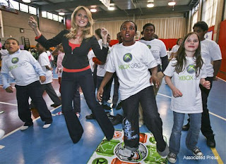 Christy Brinkley on Xbox