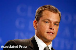 Matt Damon's hair