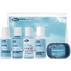 Bliss Tried + Blue Travel Kit