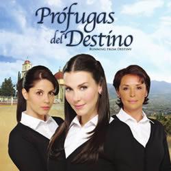 ... de su Telenovela Prófugas del Destino , transmitida por TV Azteca