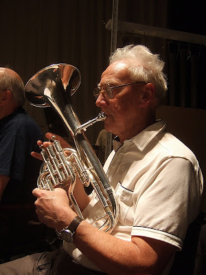 dave appleby on tenor horn