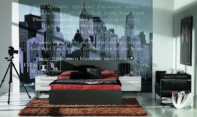 Fotos y dise o de dormitorios todos los estilos - Dormitorios empapelados ...