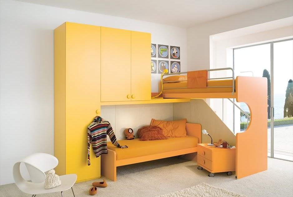 Fotos y dise o de dormitorios todos los estilos for Dormitorio naranja
