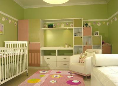 Estantería sencilla, todo en línea recta, lo que le da vida a este dormitorio, es la combinación de colores cálidos que trae consigo, la alfombra con