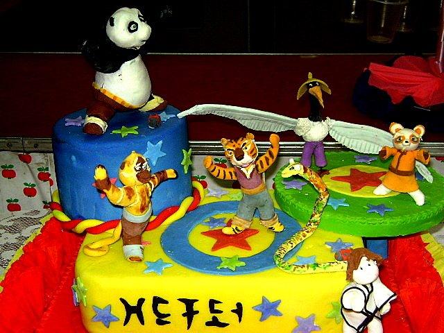 Torta Infantil Kunfu Panda