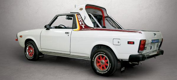 Subaru Brat Seats. Subaru struck derty gold in