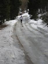 Verso il Rifugio Baranci in Pusteria, 21 marzo 2010