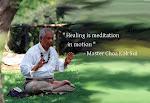 Master doing Twin Heart Meditation