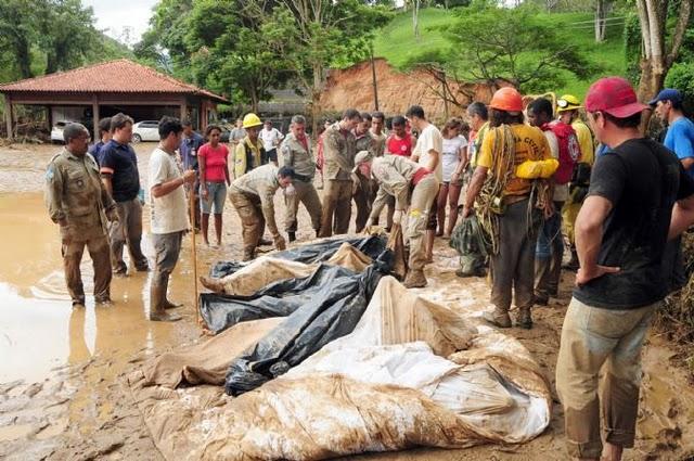 A DIREITA BRASILEIRA EM AÇÃO: A tragédia fluminense